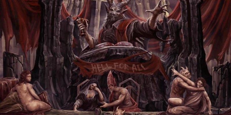 "Italy's Evil Thrash MALAMORTE - ""Hell For All"" - Out Jan 25th (EU), Feb 8 (NA)"