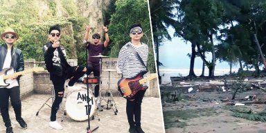 Tsunami Kills Members of Rock Band During Performance in Indonesia