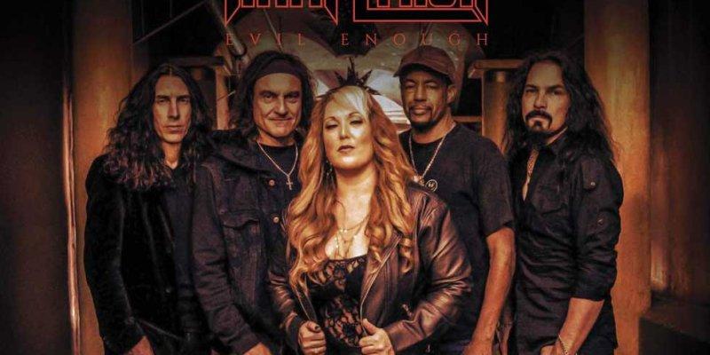 TARA LYNCH Reveal 'Evil Enough' Album Details EU/UK Release Feat. Vinny Appice, Tony MacAlpine, Phil Soussan, Among Others