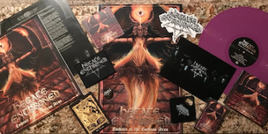 """UK BLACKENED DEATH ACT HECATE ENTHRONED UNVEIL """"REVELATIONS IN AUTUMN FLAME"""" VIDEO"""