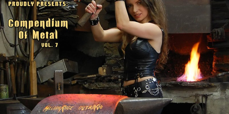 "Free Download - VV​​.​​AA. ""Compendium of Metal Vol. 7"" by Metal On Metal Records"