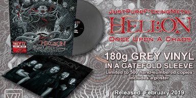 """Hell:on - """"Once Upon A Chaos"""" - Vinyl Release!"""