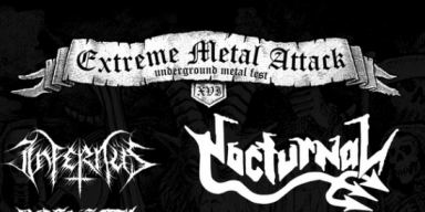 EXTREME METAL ATTACK // ANNO XVI 2019 [Tickets] by Helldprod Records