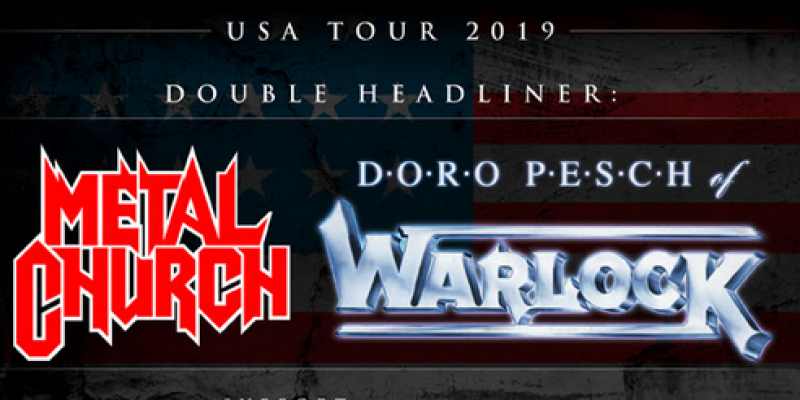 DORO Announce US Co-Headlining Tour With METAL CHURCH!