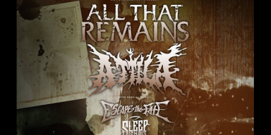 Sleep Signals On Tour with All That Remains, Attila, and Escape the Fate