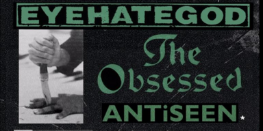EYEHATEGOD Announces 4 Strikes... From The Elementary To The Penitentiary Tour With The Obsessed And Antiseen, Japan Shows And More!