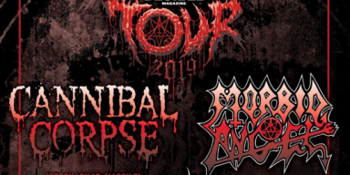 CANNIBAL CORPSE To Kick Off Decibel Magazine Tour With Morbid Angel Later This Month