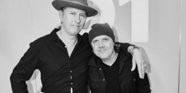 METALLICA's LARS ULRICH Interviews ALICE IN CHAINS' JERRY CANTRELL For 'It's Electric!' Radio Show