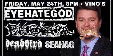 "Arkansas Senator wants to boycott venue for ""wicked and evil"" Eyehategod poster?"