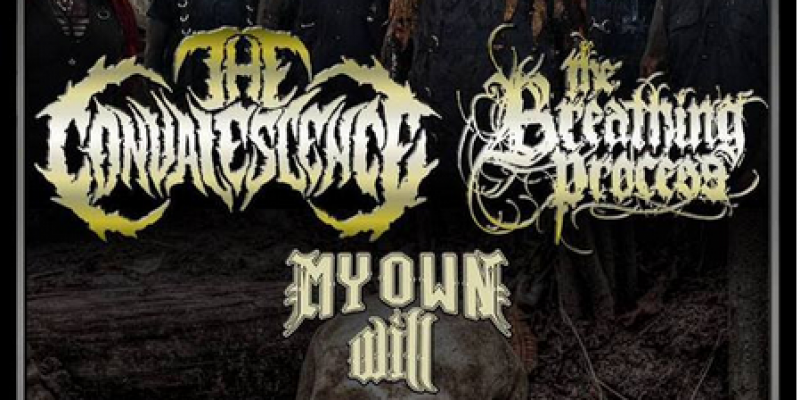 Kicking Off - Feb 14-19 - THE CONVALESCENCE Canadian Tour (ON/QC) w/ The Breathing Process, My Own Will