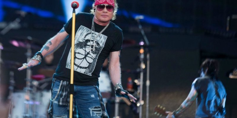 AXL HAS 'MAGNIFICENT' IDEAS FOR NEW GN'R ALBUM