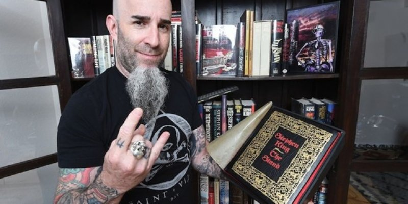 Anthrax's Scott Ian Has A $20,000 Holy Grail Stephen King Book