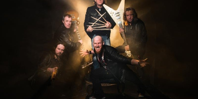 DIAMOND HEAD: New Wave Of British Heavy Metal Icons Sign Record Deal With Silver Lining Music; Upcoming Album The Coffin Train Set For Release May 24th