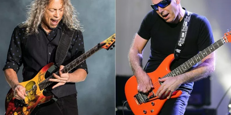 """Joe Satriani Recalls METALLICA Guitarist Asking for Help With 'Kill 'Em All' Solos: """"It Wasn't My Job to Make the Decisions"""""""