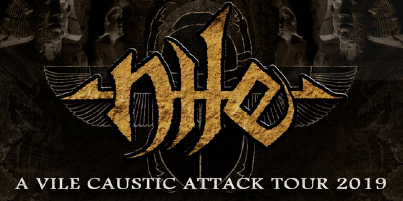 NILE Announces A Vile Caustic Attack Tour With Special Guest TERRORIZER!