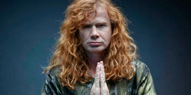 DAVE MUSTAINE To Use Wah-Wah Pedal Live For First Time!