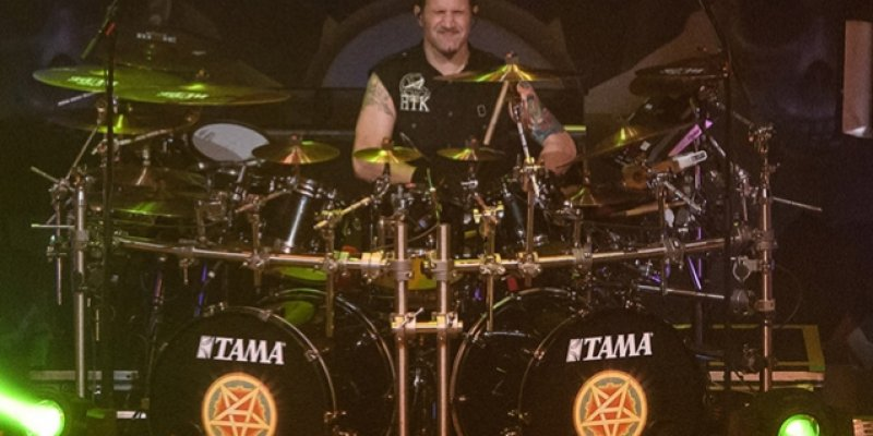 ANTHRAX's CHARLIE BENANTE Plays 'At Dawn They Sleep' With SLAYER