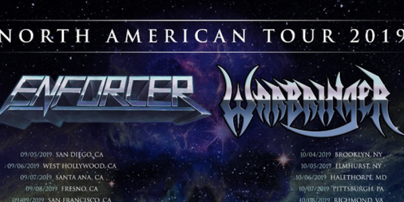 ENFORCER Announce Co-Headlining North American Tour With WARBRINGER!