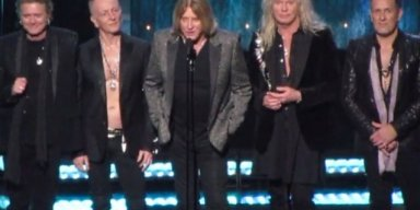 DEF LEPPARD INDUCTED INTO ROCK HALL