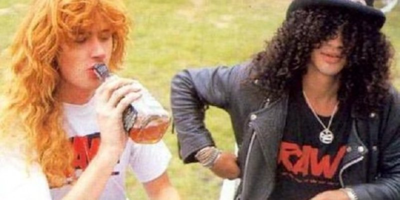 DAVE MUSTAINE Invited SLASH To Play With MEGADETH