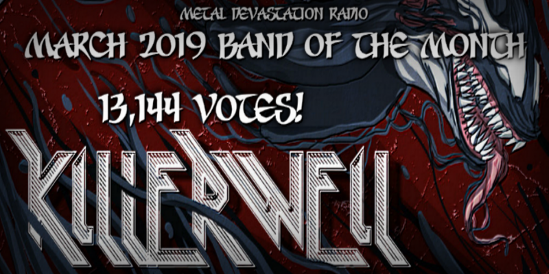 Killerweil Is The Band Of The Month On MDR March 2019