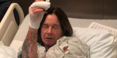 OZZY OSBOURNE Postpones All Tour Dates After After Falling!