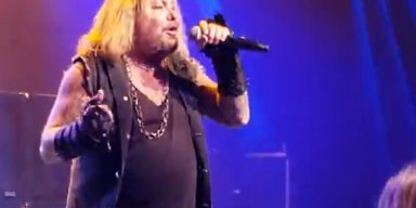 VINCE NEIL Performs MÖTLEY CRÜE Classics In Pasadena, California