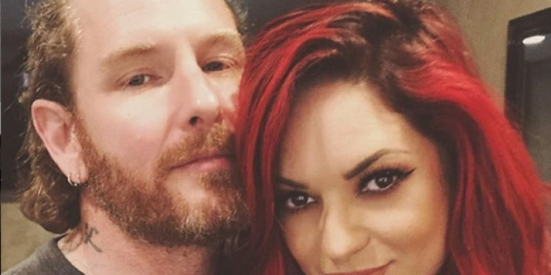 COREY TAYLOR's Fiancée ALICIA DOVE: 'I Didn't Know What Real, Selfless Love Was Until Him'