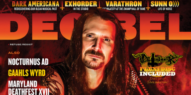 POSSESSED's Jeff Becerra Graces The Cover Of Decibel Magazine