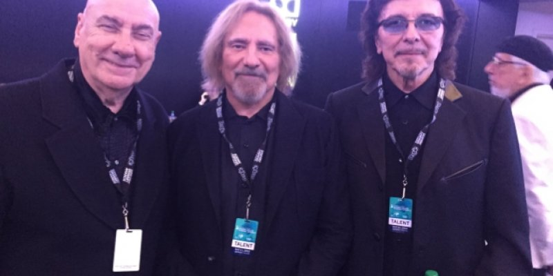 BLACK SABBATH Reunites With BILL WARD