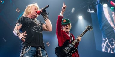 Duff Recalls 'Nervous' Axl Rose Auditioning For AC/DC Tour