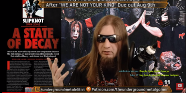 """Why I think slipknot will retire after """"WE ARE NOT YOUR KIND"""""""