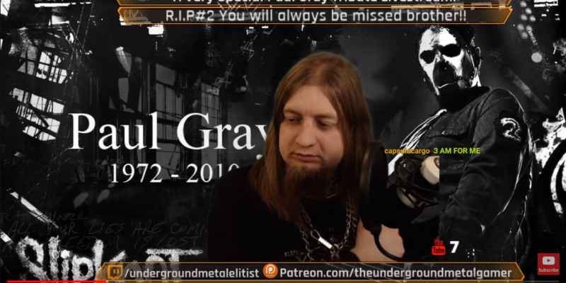 A Very special tribue to paul gray live!
