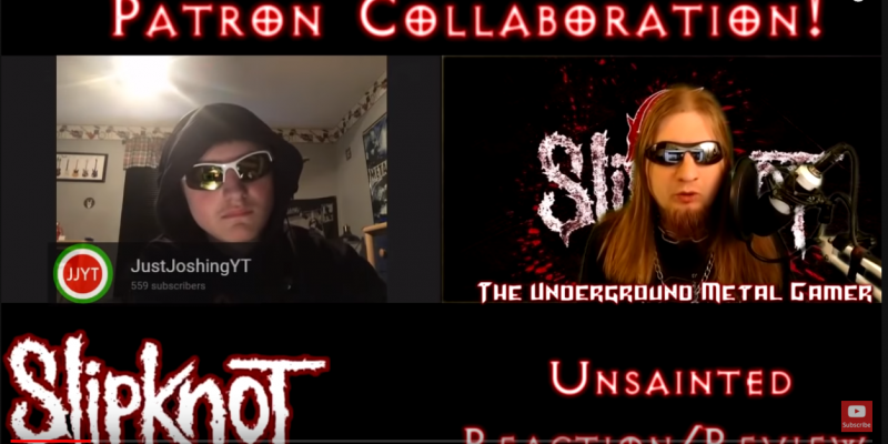 Slipknot Unsainted Reaction/Review
