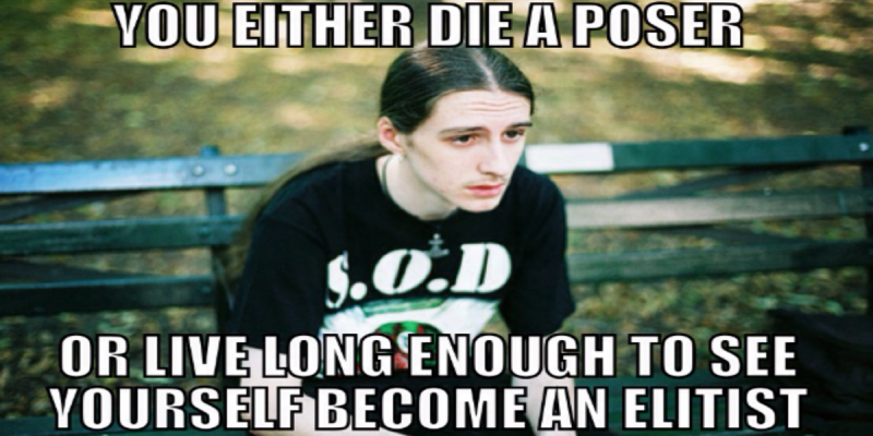 Can Metal Elitism Be A Good Thing?