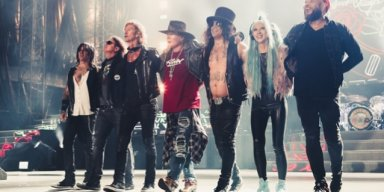 GUNS N' ROSES ANNOUNCES U.S. TOUR DATES