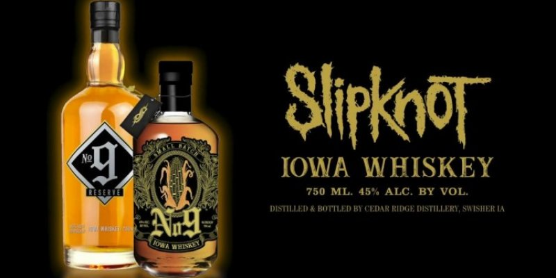 SLIPKNOT Makes Their Own Whiskey