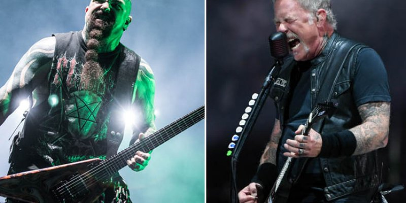JAMES HETFIELD Rocks Out To SLAYER's 'Angel Of Death' While Driving