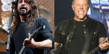 """Dave Grohl Recalls FOO FIGHTERS Being Higher on Festival Bill Than METALLICA: """"We Can't Go On After Them"""""""