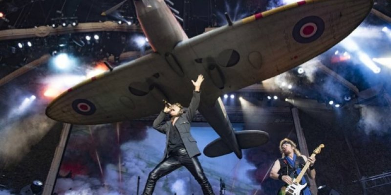 IRON MAIDEN KICKS OFF NORTH AMERICAN TOUR