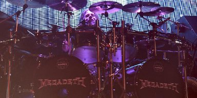 Chris Adler's Megadeth Drum Kit Destroyed in Fire