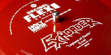"""Exhorder Perform Demo-Era Classic """"Legions of Death"""" Via Decibel Flexi Series"""