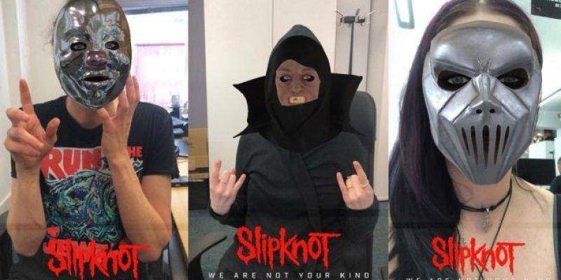 You can now wear Slipknot masks on Facebook