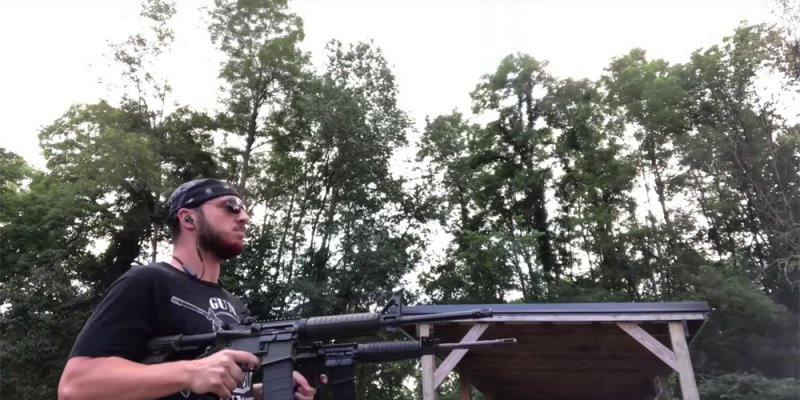 """Dude Covers Pantera's """"5 Minutes Alone"""" on Guns"""