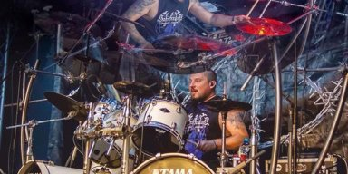 "DIMMU BORGIR Drummer Daray ""The Chosen Legacy"" Drum Cam Video From Rockstadt Festival Available!"