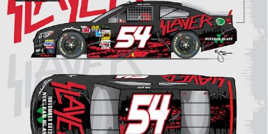 SLAYER PULLED AS PRIMARY SPONSOR OF RICK WARE RACING'S ENTRY NO. 54 AT THIS WEEKEND'S BRISTOL MOTOR SPEEDWAY