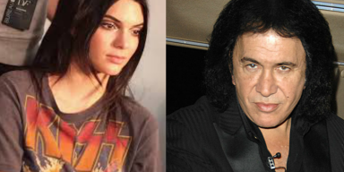 Gene Simmons Reacts To Kendall Jenner In A KISS T-Shirt