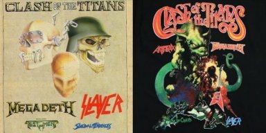 """Get Ready For """"Clash Of The Titans"""" Tour Featuring Top Thrash Bands"""