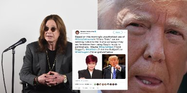 Ozzy Bans Trump From Using His Music & Gives Better Suggestions