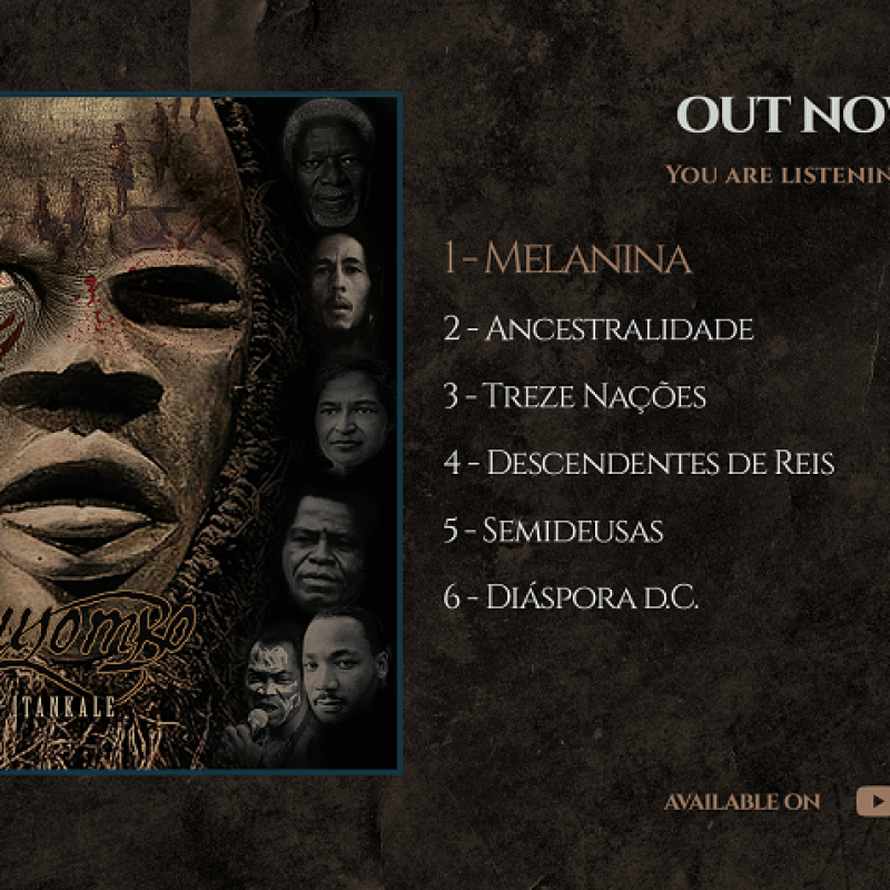 "QUILOMBO: Listen now to the EP ""Itankale""!"